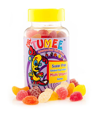Mr. Tumee™Sugar Free Gelatin Free Vegan Multi Vitamin Gumee