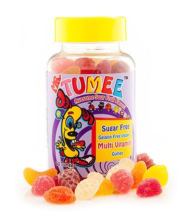 Mr. Tumee™Sugar Free Gelatin Free Vegan Multi Vitamin Gumee